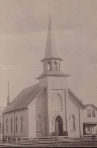 The First Church Building 1878 – 1893